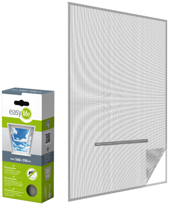 Insektenschutz-Klettsystem für Dachfenster