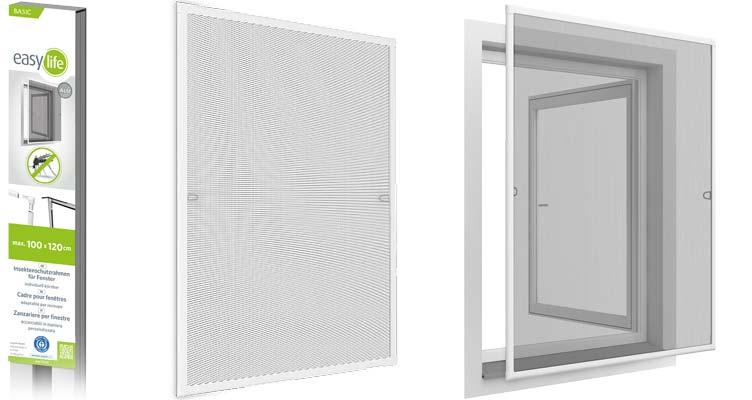 Basic Insektenschutzfenster