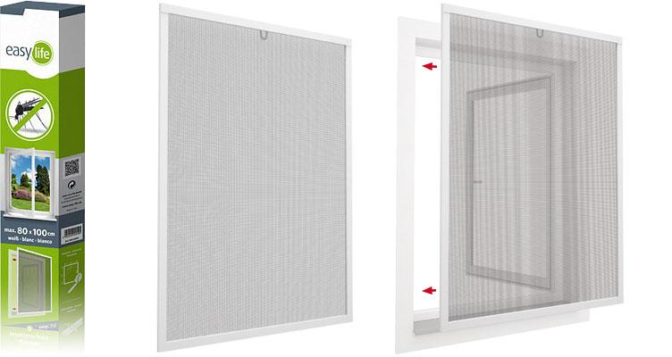 easyLINE Insektenschutz-Fenster