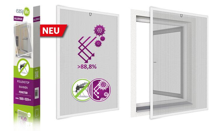 easyLINE 2.0 Insektenschutz-Fenster